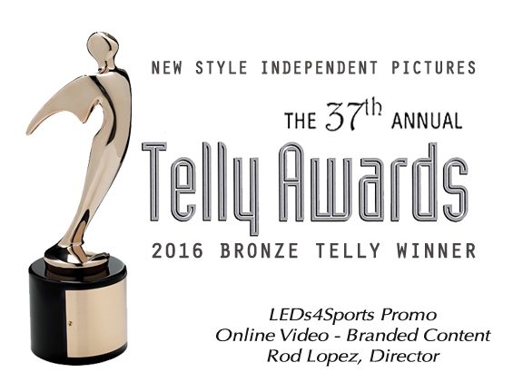 Telly Awards LEDs4Sports