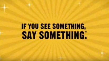 If You See Something, Say Something (Bus)