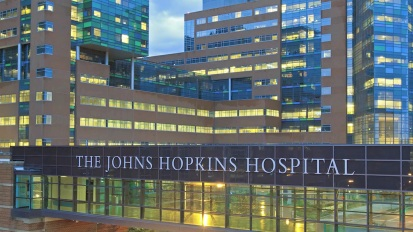Welcome to the Wilmer Eye Institute of  Johns Hopkins University