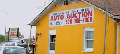 Branch Ave Auto AuctionCommercial