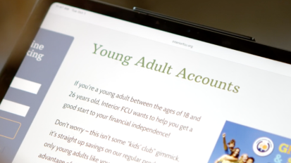 Interior FCU Young Adult Account
